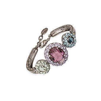 Multicolor bracelets with crystals from Swarovski 6333