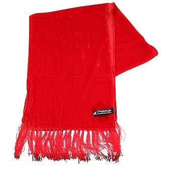 Knightsbridge kaulavaatteita Velvet huivi - punainen