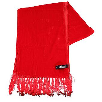 Knightsbridge Neckwear Velvet Scarf - rouge