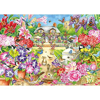 Falcon Deluxe Summer Garden Jigsaw Puzzle (1000 Pieces)