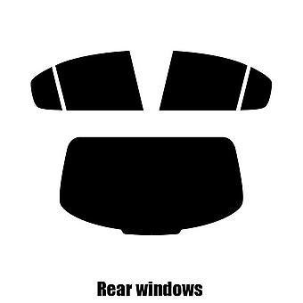Pre cut fönstret nyans - Alfa Romeo Giulia - 2015 och nyare - bakre windows