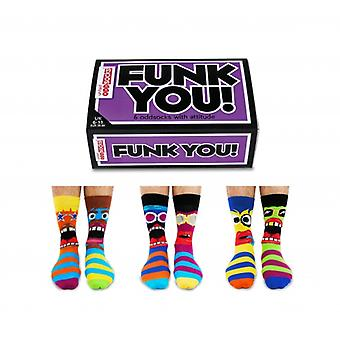 Gifts for Men - United Oddsocks - Funk You