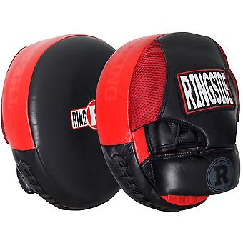Am Ring Air Box Punch Mitts - rot/schwarz
