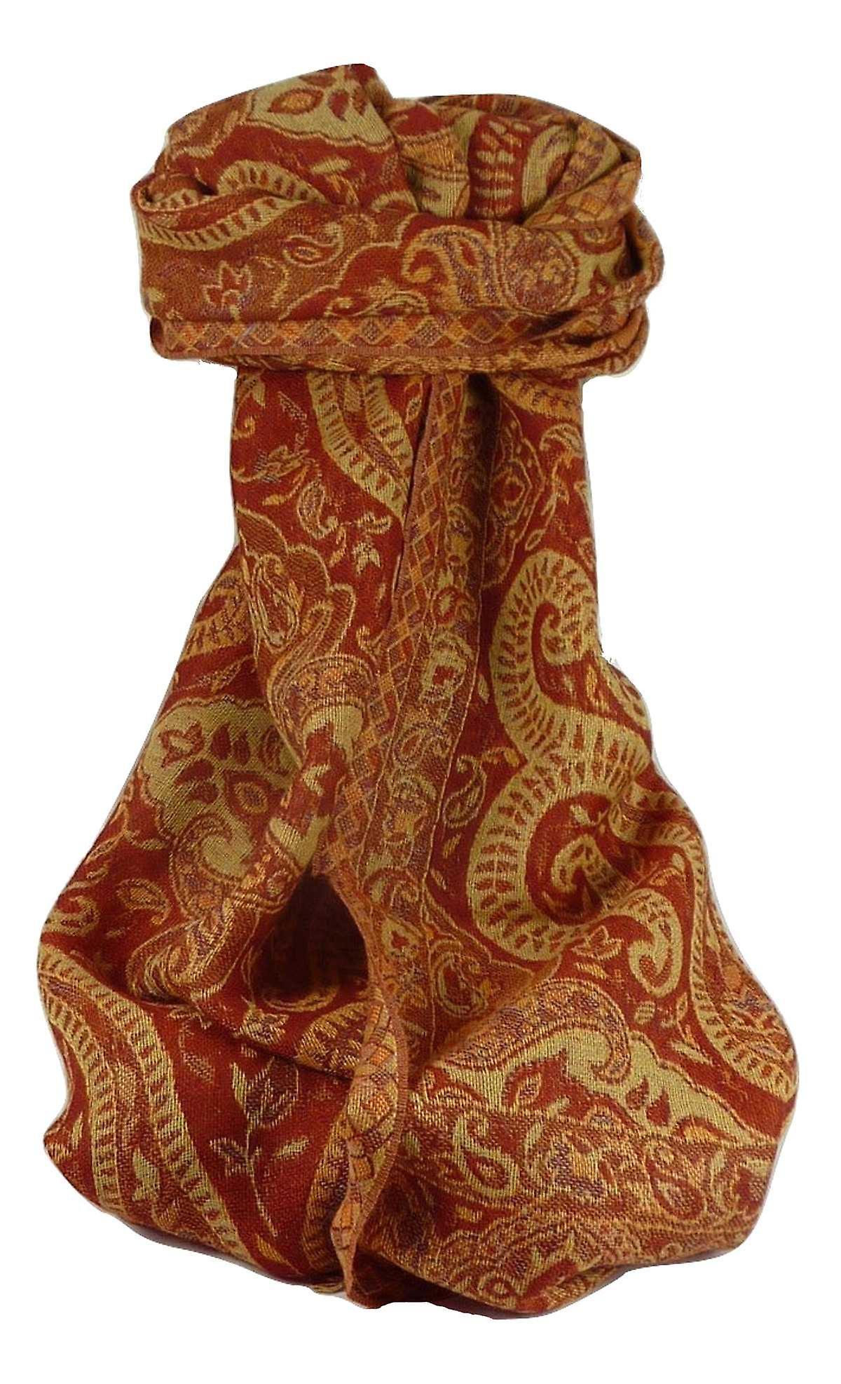 Mens Muffler Scarf 0719Fine Pashmina Wool by Pashmina & Silk