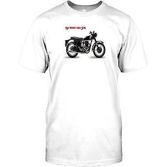 BSA Rocket gouden ster - klassieke Britse Bike Mens T Shirt