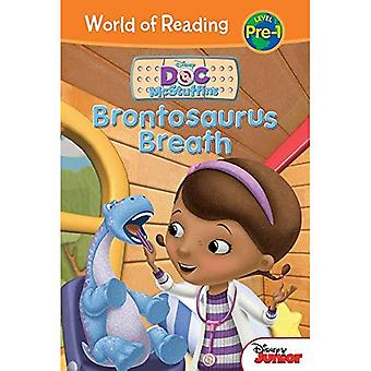 Brontosaurus Breath (DOC Mcstuffins: World of Reading, Level Pre-1)