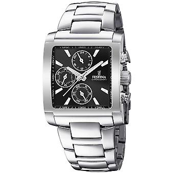 Festina | Mens Stainless Steel Chronograph | Black Dial | F20423/3 Watch
