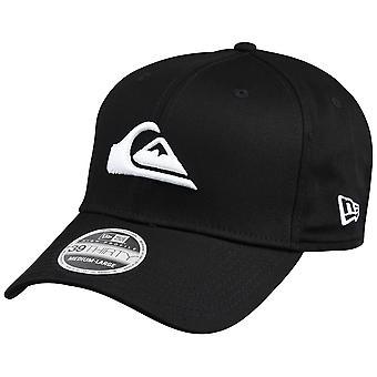 QUIKSILVER Mens Mountain e onda nuova Era cappello - bianco/nero