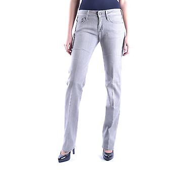 7 For All Mankind Ezbc110008 Women's Grey Cotton Jeans