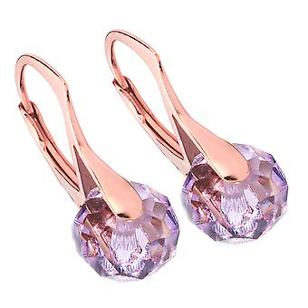Women's Stunning Briolette Round Crystals From Swarovski Earrings