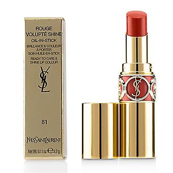 Yves Saint Laurent Rouge Volupte Shine - Nr. 81 Corail Aviator - 3.2g/0.11oz