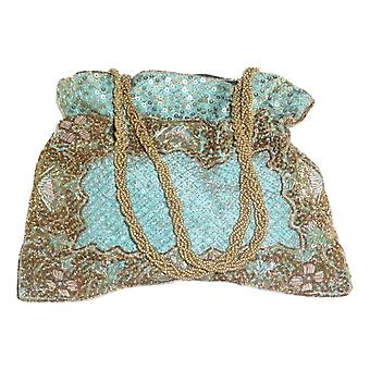 Raw Silk Clutch Bag 105 by Silk Sauvage at Pashmina & Silk
