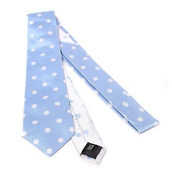 Duchamp of London Twill Polkadot Spot Tie