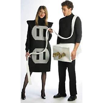 Plug- And -Socket koppel kostuum