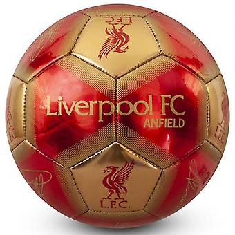Liverpool Football Signatur