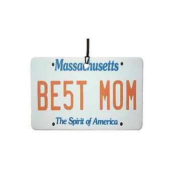 Massachusetts - Best Mom Nummernschild Auto Lufterfrischer