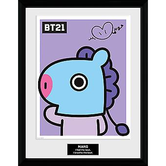 BT21 Mang Collector Print 16x12 inches 30,5 x41cm