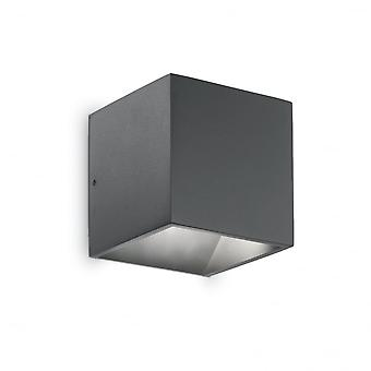 Ideal Lux Rubik Wall Light Anthracite
