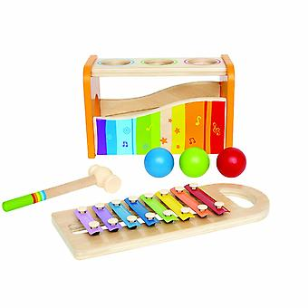 Hape E0305 Early Melodies Pound and Tap Bench