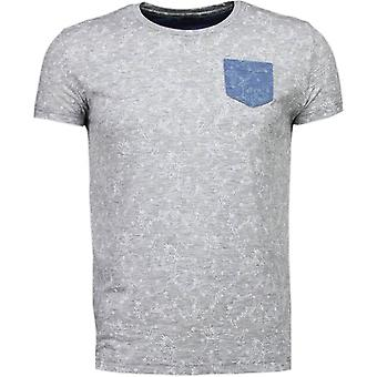 Summer-T-Shirt-Grey pattern