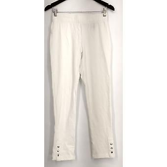 Slimming Options for Kate & Mallory Leggings Pull On White Womens A434323
