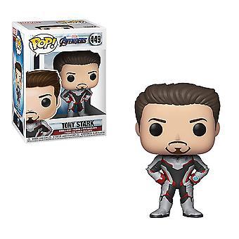 Avengers 4 Endgame Tony Stark (joukkue puku) Pop! Vinyyli