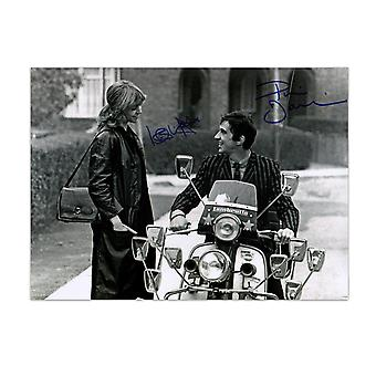 Quadrophenia Dual Signed Photo: Jimmy And Steph