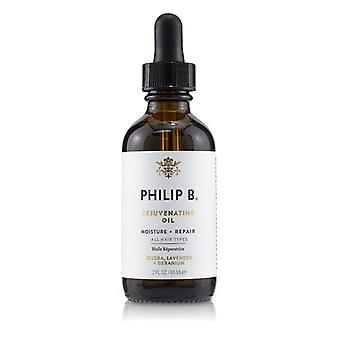 Philip B nuorentava öljy (kosteus + korjaus-kaikki hius tyypeille)-60ml/2oz