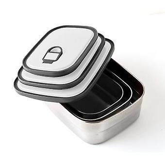 Quid Lunchbox 1.25L Rectangular Inox Go One (Kitchen , Kitchen Organization , Tuppers)