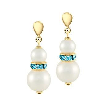 Eternal Collection Alpine Aquamarine Crystal Shell Pearl Gold Tone Drop Clip On Earrings Eternal Collection Alpine Aquamarine Crystal Shell Pearl Gold Tone Drop Clip On Earrings Eternal Collection Alpine Aquamarine Crystal Shell Pearl Gold Tone Drop Clip On Earrings Eternal Collection