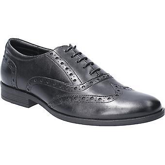 هش الجراء مينس أوكين بروج الدانتيل حتى الجلود أحذية أكسفورد