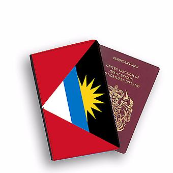 ANTIGUA AND BARBUDA Flag Passport Holder Style Case Cover Protective Wallet Flags design