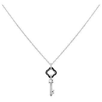 Ceranity Woman 925 zilver wit zirkonium oxide FASHIONNECKLACEBRACELETANKLET 1-72/0056-N
