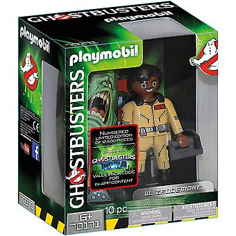 Playmobil 70171 Ghostbusters Collectors Edition W. Zeddemore