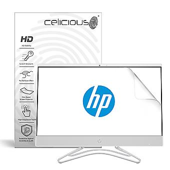 Celicious Vivid Invisible Glossy HD Screen Protector Film Compatible with HP All In One 24 F0022NA [Pack of 2]