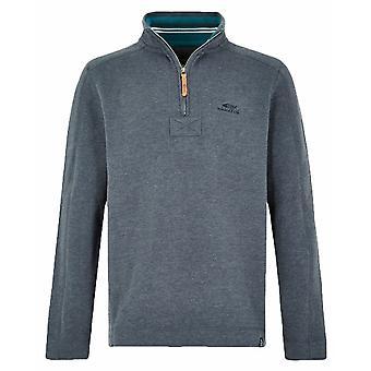 Weird Fish Alyth Quarter Zip Sweatshirt