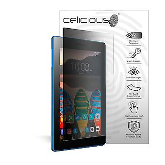 Celicious Privacy 2-Way Portrait Anti-Spy Filter Screen Protector Film Compatible with Lenovo Tab3 7 Essential
