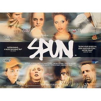 Spun (kaksipuolinen) alkuperäinen elokuva juliste