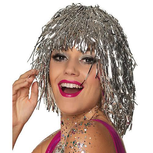Glitter Peruk | Glitter Wig | Tinsel Wig