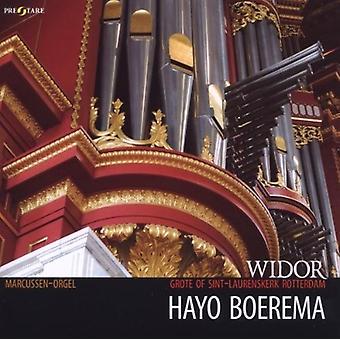 Widor, Charles / Boerema, Hayo - Widor: Symphonie No. 5 [CD] USA import