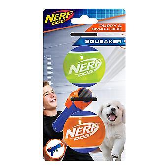 Nerf Dog Puppy Tennis Ball - 2 Pack
