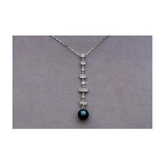 Luna-parels briljante ketting met Tahitiperle M_S5_AH3