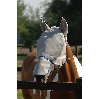Equilibrium Field Relief Max Fly Mask - Grey