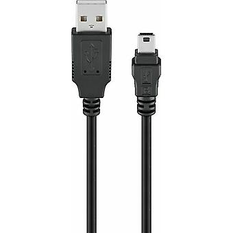 0.15m USB 2.0 PSP PS3 Controller Charger Cable Playstation 3 A to MINI B 15cm