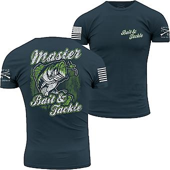Grunt Style Bait and Tackle T-Shirt - Blue