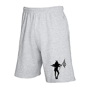Pantaloncini tuta grigio fun3253 race angel babe