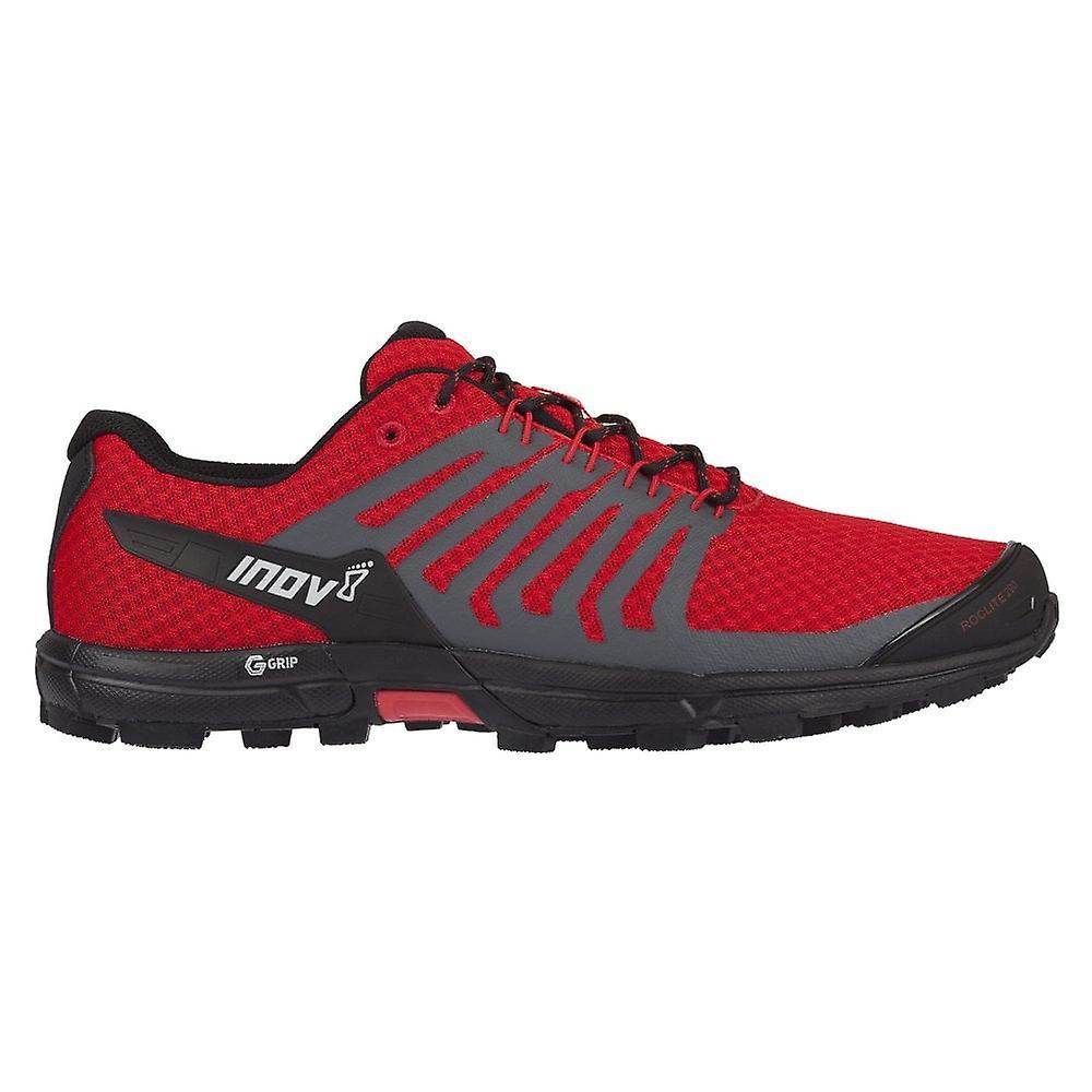Inov8 Roclite G 290 Mens Cushioned Trail Graphene Running Shoes Red/black