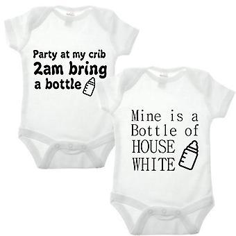 Partie à ma maison de berceau blanc double bébé se développent