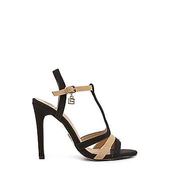 Laura biagiotti - 632_nabuk women's sandals, black