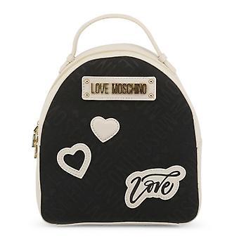 Amor moschino mujeres's mochila, negro - lc